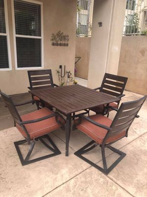 patio furniture with swing for Sale in El Cajon, CA