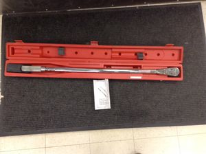 "Snap-on 3/4"" torque wrench for Sale in Denver, CO"