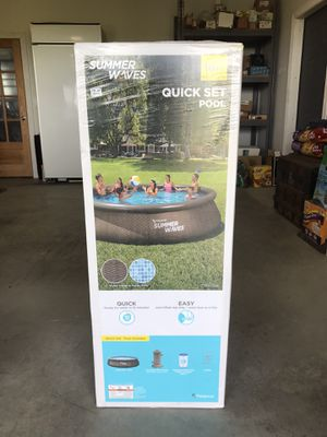 Summer Waves 16 foot Quickset pool brand new for Sale in Frederick, MD