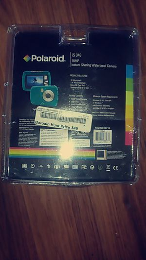 Polaroid waterproof digital camera for Sale in Greenville, SC