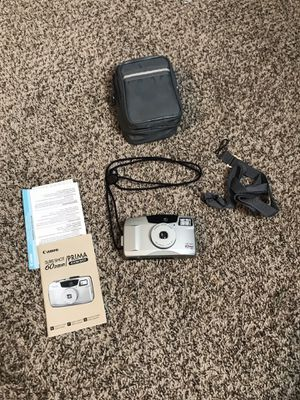 Canon Sure Shot 60 Zoom 35mm Point & Shoot Film Camera-Tested for Sale in Tallmansville, WV