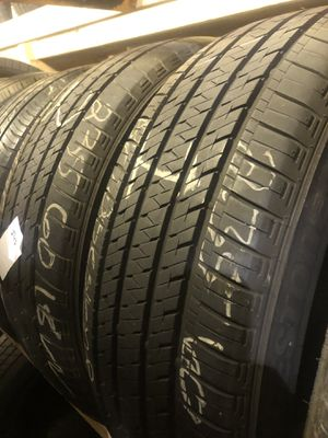 Matching pair (2) 235 60 18 tires for only $38 each with FREE INSTALL!!! for Sale in Lakewood, WA