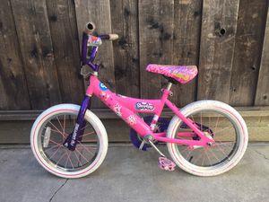 Shopkins 16 inch kids bike- age 4-8 years for Sale in Cupertino, CA