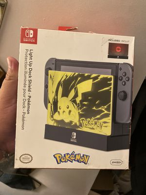 Pokémon light up dock shield for switch for Sale in Los Angeles, CA