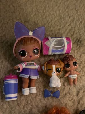 Lol surprise doll sis cheer family for Sale in Heath, TX