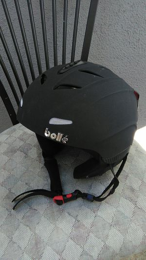Bolle snowboarding helmet in pretty decent condition for Sale in Orange, CA