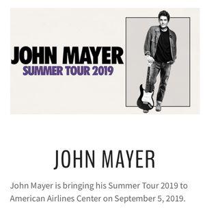 John Mayer Tickets for Sale in Dallas, TX