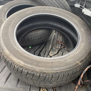 (4) 245/60r20 By Bridgestone Dueler for Sale in Hanover, PA