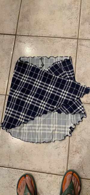 Authentic Burberry bathing suit sarong wrap cover up for Sale in Boca Raton, FL
