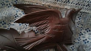 """""""A Sparkle Above"""" Vintage hand carved clock topper from Germany! See my other offers for discounts! for Sale in San Diego, CA"""