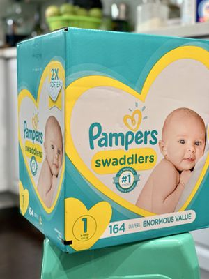 Pampers Swaddled size 1 for Sale in Long Beach, CA
