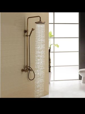 CORAL Wall Mounted Antique Brass Dual Handle Shower Faucet for Sale in San Diego, CA