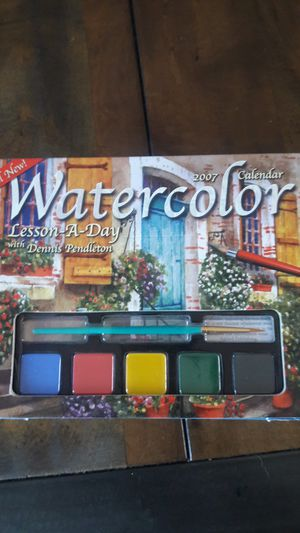 Water color set for Sale in Dublin, CA