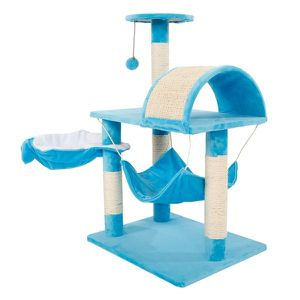 NEW Pet Play House Cat Scractching Post for home living area bedroom pet area Outdoor backyard for Sale in Las Vegas, NV