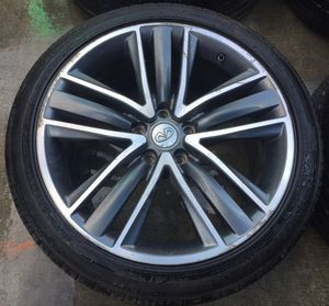 "2014 2015 2016 2017 INFINITI Q50, 2017 2018 Q60 19"" INCH WHEEL RIMS W/ TIRES (SET OF 4) for Sale in Fort Lauderdale, FL"