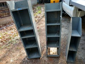 Metal van shelving for Sale in Carver, MA