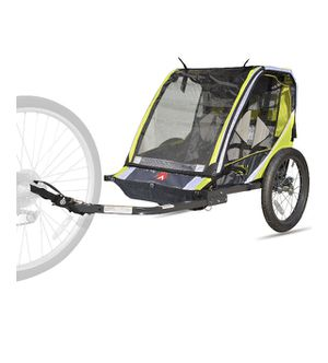 Allen Sports Deluxe 2-Child Bike Trailer - Green for Sale in Raleigh, NC