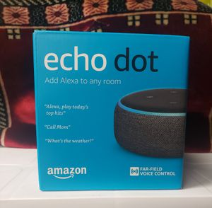 Amazon Echo Dot 3rd gen smart home speakers for Sale in Gardena, CA