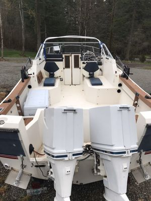 1999 Bayliner trophy with trailer/ Fishing boat for Sale in Boring, OR
