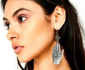Fantasy Jewelry silver Fatima hand earrings for Sale in Laredo, TX