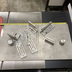 Highly Adjustable Aluminium Table Saw Cross Cut Sled for Sale in Puyallup, WA
