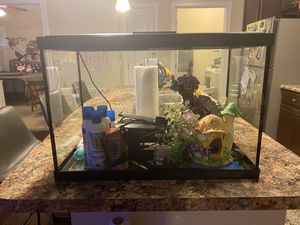 Barely used fish tank!! 15 gallons!!! for Sale in Marietta, GA