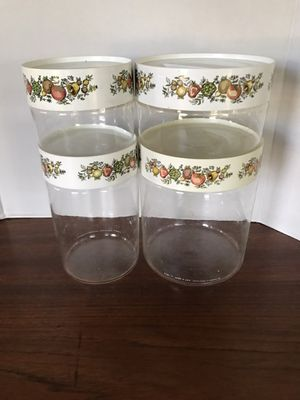 Pyrex Spice of Life Canisters for Sale in Riverside, CA
