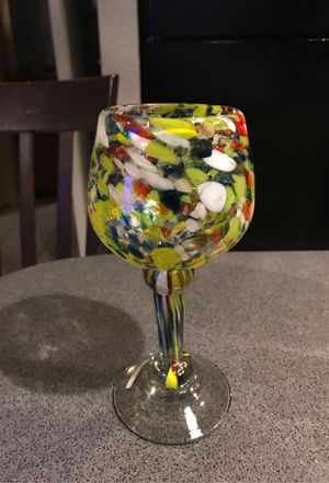 8 inches tall hand blown glass for Sale in Austin, TX