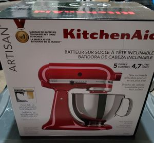 Kitchen Aid Artisan 5 quart mixer BRAND NEW! for Sale in Ceres, CA