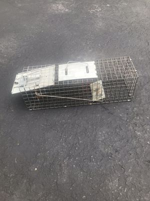 Live animal trap for Sale, used for sale  Randolph, NJ