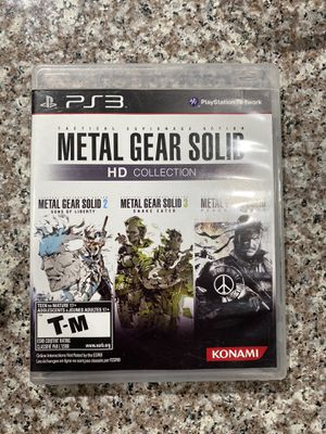 Metal Gear Solid HD Collection (PS3) for Sale in Las Vegas, NV