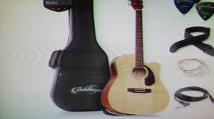 Full size Dreadnought cutaway acoustic ELECTRIC guitar bundle for Sale in Spokane, WA