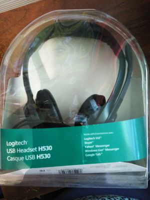 Logitech USB headset H530. New $40. for Sale in Sacramento, CA