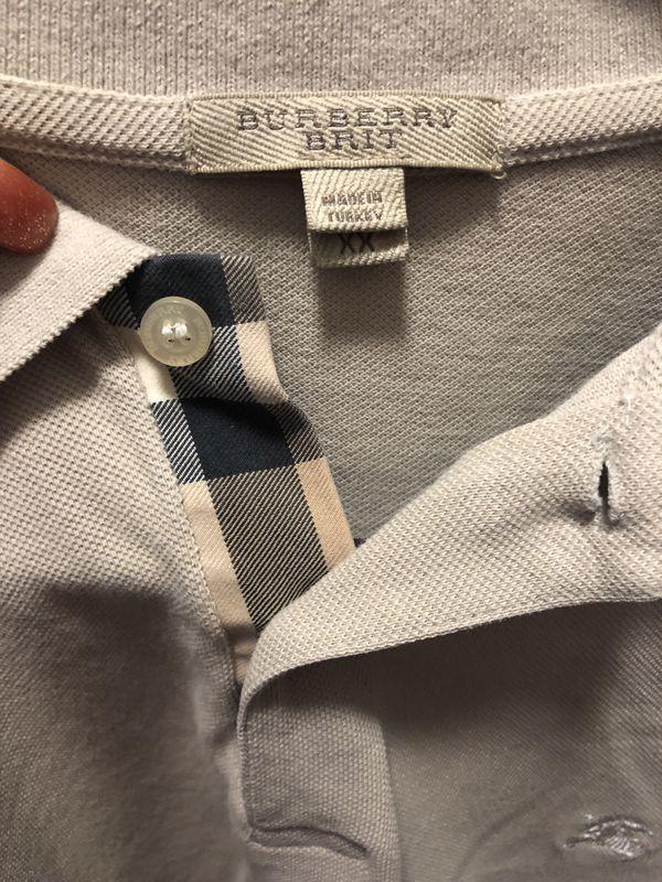 Burberry man shirt
