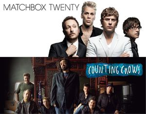 2 tickets - Matchbox 20 & Counting Crows! for Sale in Gilbert, AZ