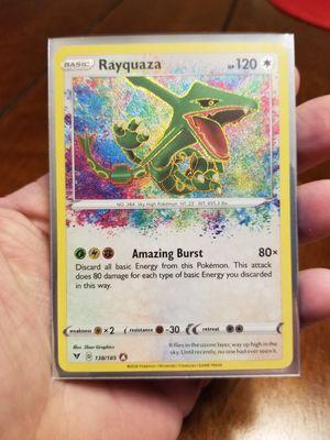 Amazing Rare Rayquaza Vivid Voltage Pokemon for Sale in Duncan, SC