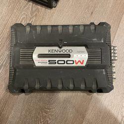 Kenwood KAC-6404 500 Watt Amplifier for Sale in Dallas,  TX