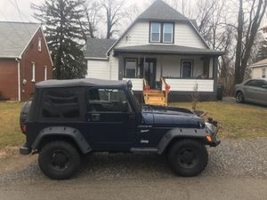 2002 Jeep Wrangler Sport SOLD for Sale in Aliquippa, PA