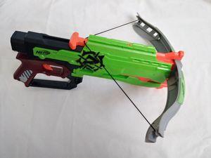 Nerf Zombie Strike Crossfire Bow Gun. Nerf Toy. for Sale in Riverside, CA