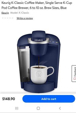 Keurig kcup coffee maker new for Sale in El Paso, TX