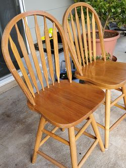 Two Bar Chairs for Sale in Vancouver,  WA