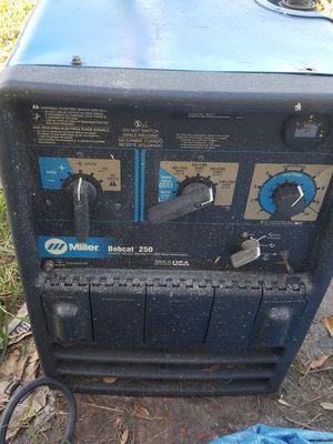 Miller bobcat 250 welder $3000 obo for Sale in Belle Isle, FL