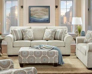Set Of 4 - Sofa, Loveseat, Armchair & Ottoman for Sale in Dearborn,  MI