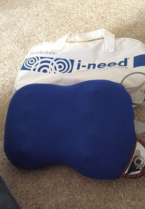 Brookstone lower back/Lumbar massager for Sale in Alexandria, VA