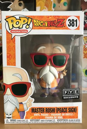 Dragonball Z Funko Pop Master Roshi (Peace Sign) for Sale in Plano, TX