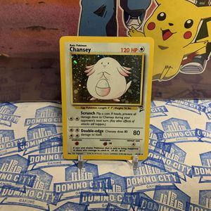 Chansey Base Set 2 Pokemon Trading Game for Sale in Montclair, CA