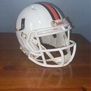 Miami Hurricanes Revolution SPEED Mini Helmet for Sale in Houston, TX