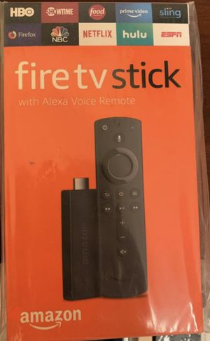 Fire TV Stick with Alexa Voice Remote for Sale in Philipstown, NY