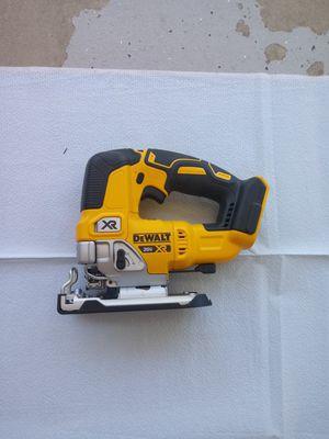 Dewalt nuevo jig saw tool only xr for Sale in Perris, CA