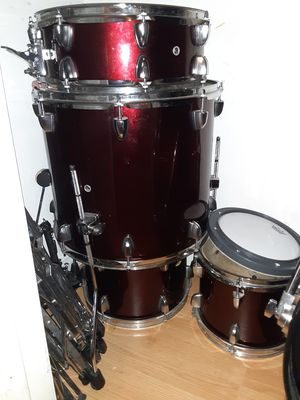 Drumset burgundy for Sale in Fresno, CA